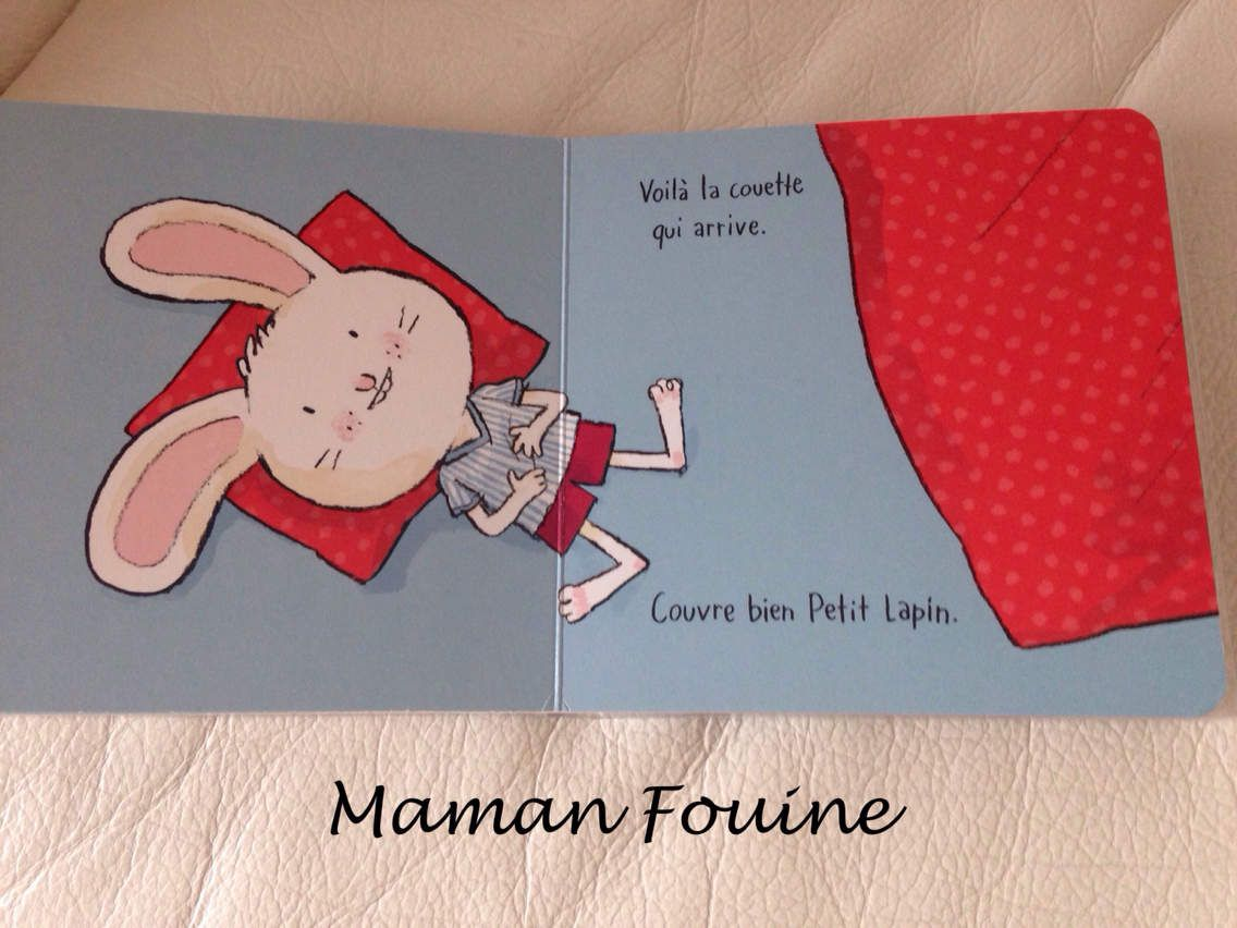 Livres participatifs : Au lit, petit lapin ! et Au bain, petit lapin !