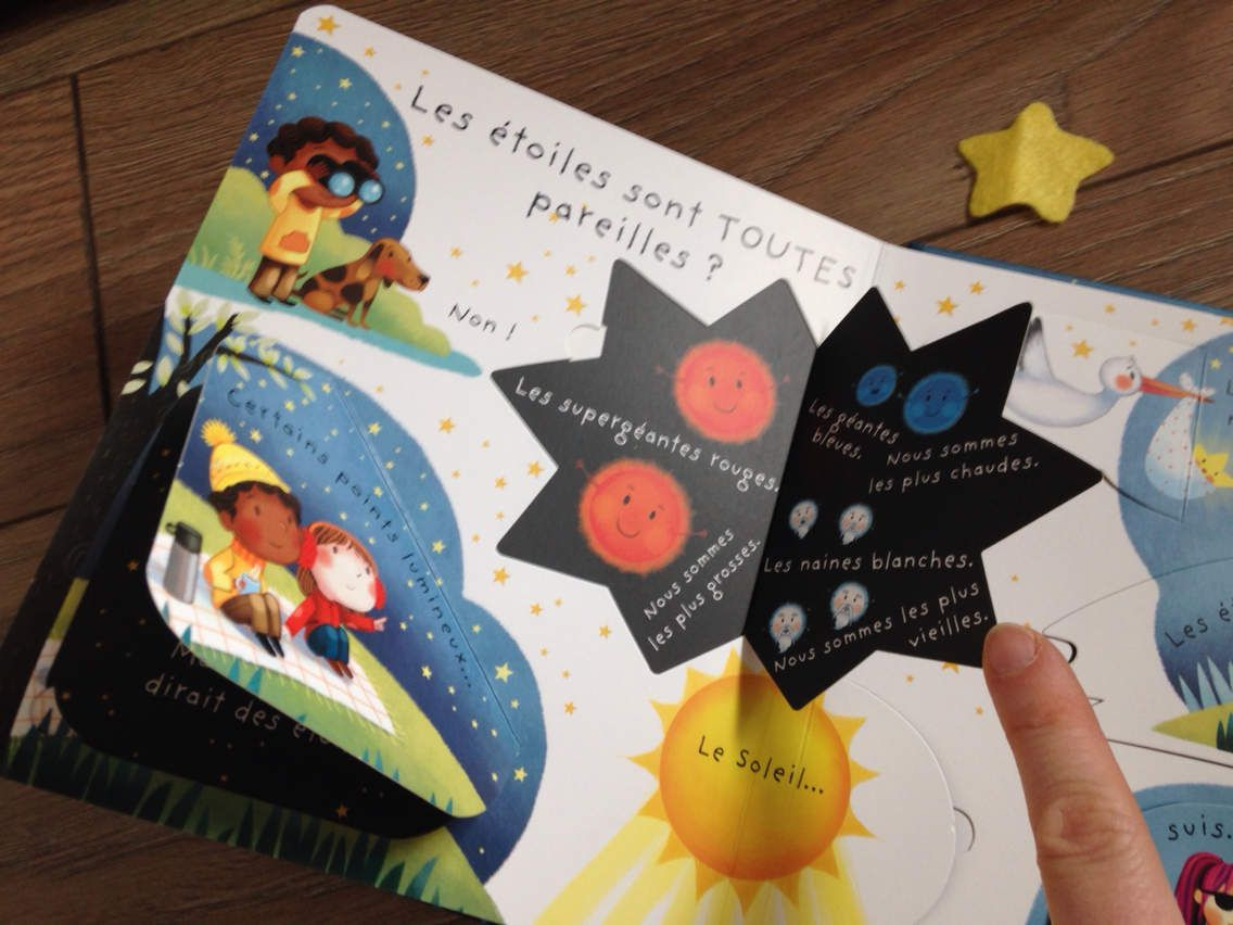 Nouveauté : C'est quoi... une étoile ? aux éditions Usborne