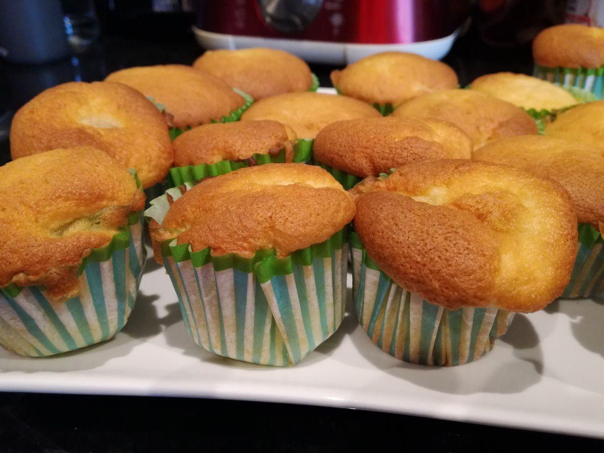 Cupcakes tout moelleux à la poire