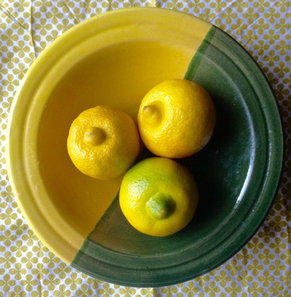 Tarte au citron (bergamote) sans meringue