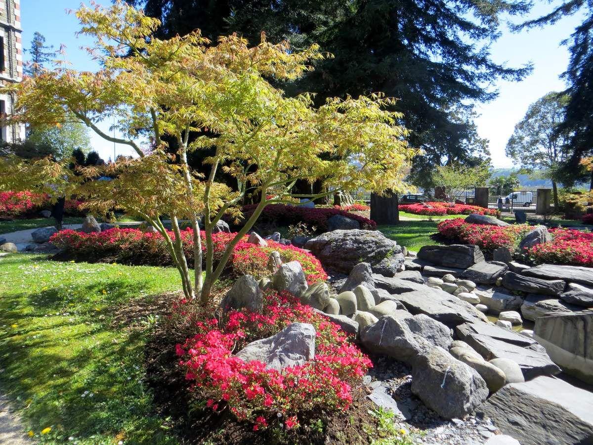 Jardin de kofu pau balades et jardins for Piscine jardin pau