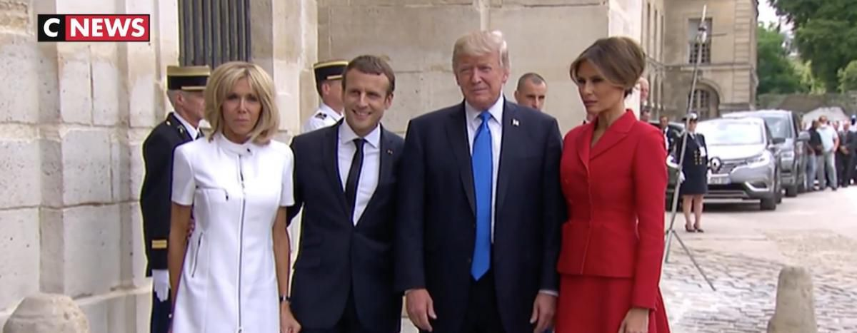 EN DIRECT - Emmanuel Macron qualifie la visite de Donald Trump à Paris de &quot&#x3B;symbolique et importante&quot&#x3B;
