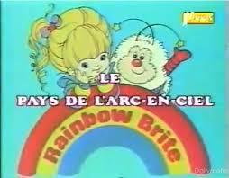 Rainbow Brite - Blondine au pays de l'arc-en-ciel