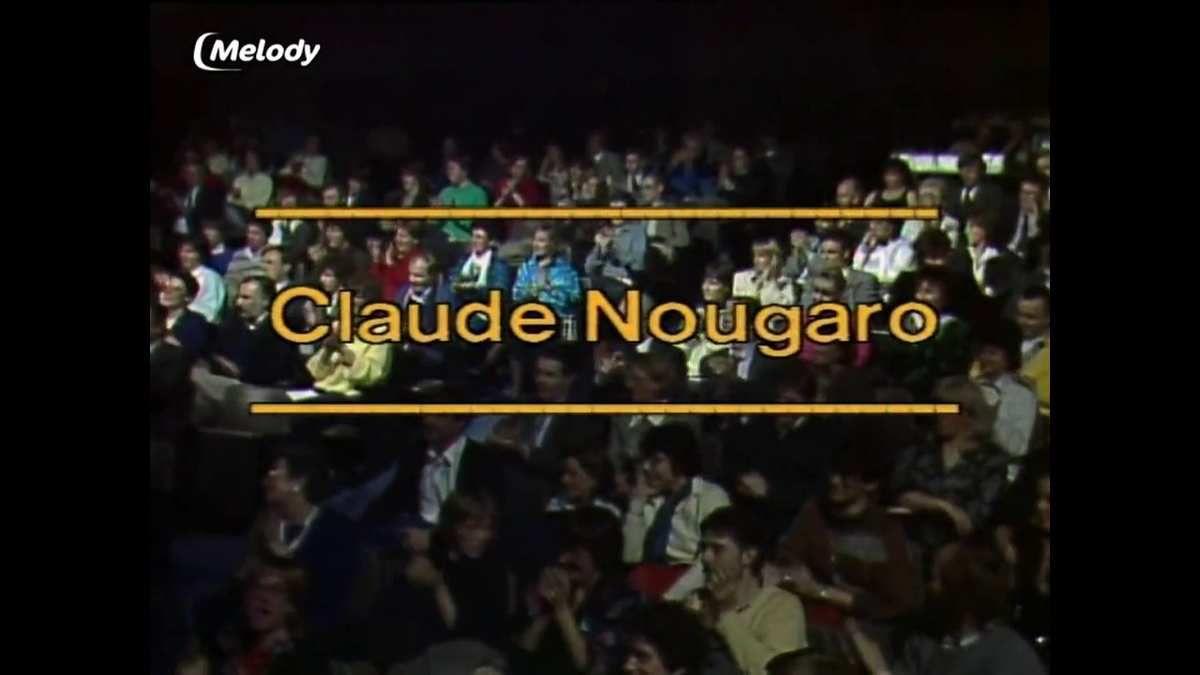 Mercredi 8 novembre à 20h40 sur TV Melody, la chaine diffusera &quot&#x3B;Face au public&quot&#x3B; avec Claude Nougaro, inédit en France
