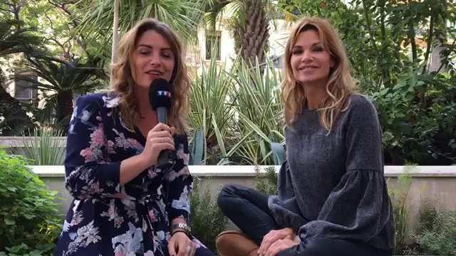 Ingrid Chauvin était en direct live sur le Facebook de My TF1