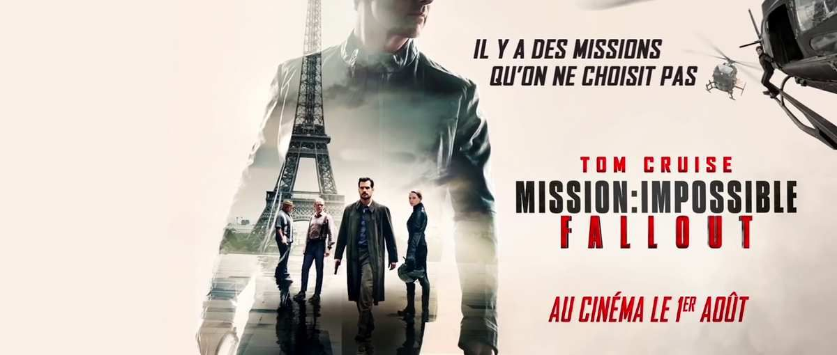 nouvelle bande annonce mission impossible fallout 2 minutes 30 de pure adr naline les. Black Bedroom Furniture Sets. Home Design Ideas