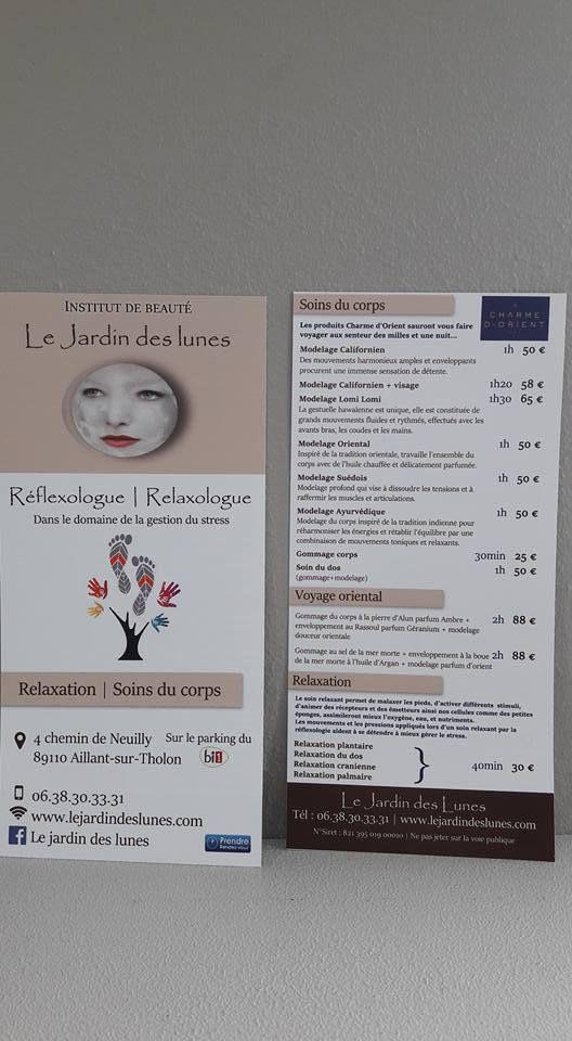 Réflexologie et relaxologie dans l'Yonne