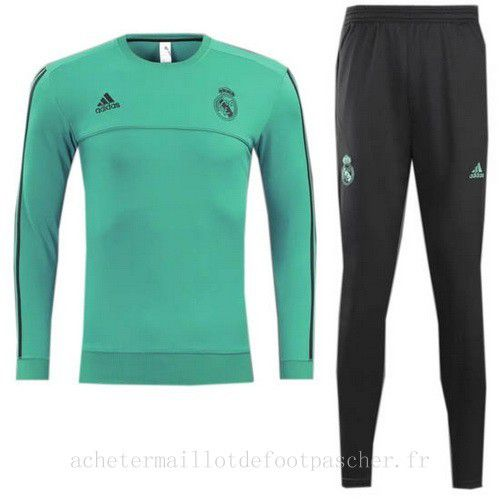 survetement foot de ensemble adidas vert real madrid 2018. Black Bedroom Furniture Sets. Home Design Ideas
