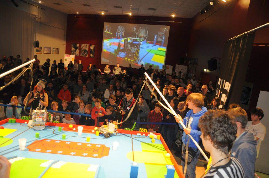 Les Trophées de la robotique le 18 mars 2017 à la Cité de l'Espace de Toulouse