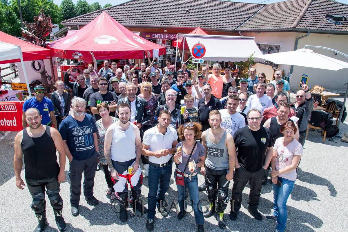 Rallye touristique FFMC 01