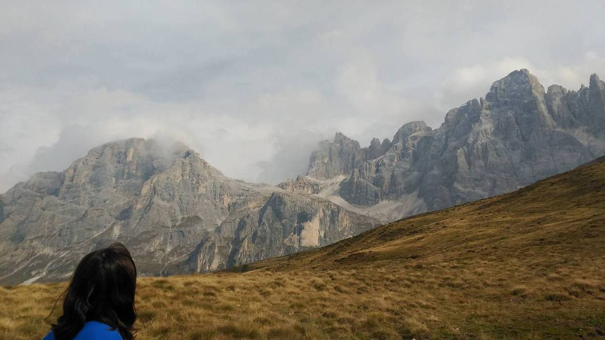 Cristo pensante. Alpes - Italia -