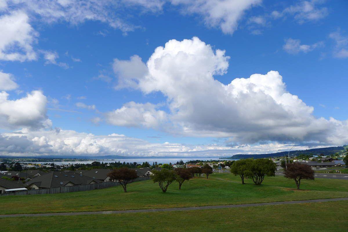 Le magnifique lac de Taupo…