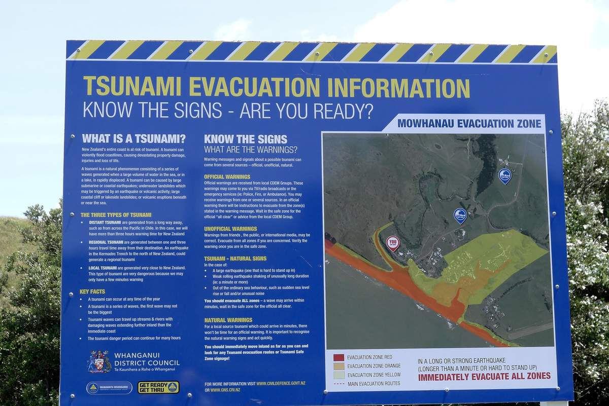 Tremblements de terre fréquents, tsunamis possibles!
