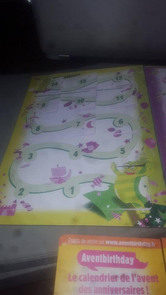 Découverte du calendrier de l'avent des anniversaires aventbirthday