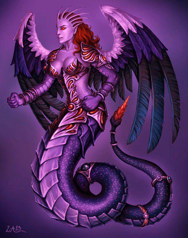 Thème &#x3B; démons je sais que c'est un mythe mais  des auteurs ou des peintres font rêver !!