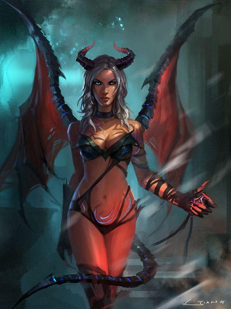 bonsoir ! le theme ce soir c'est les demones,pafois les femmes sont demones mais c'est rare ! enfin vous je juger par vous memes... bonne soirée !