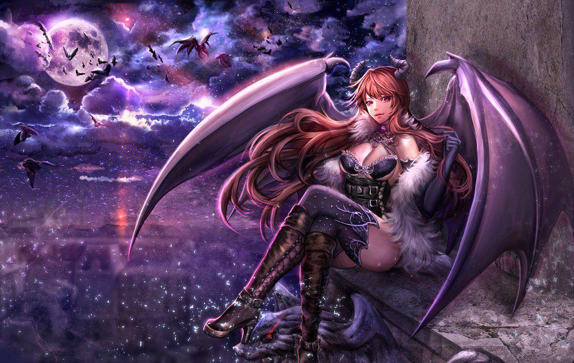 c'est fini ! le theme c'est des guerrières manga et démons ! bonne vitite !