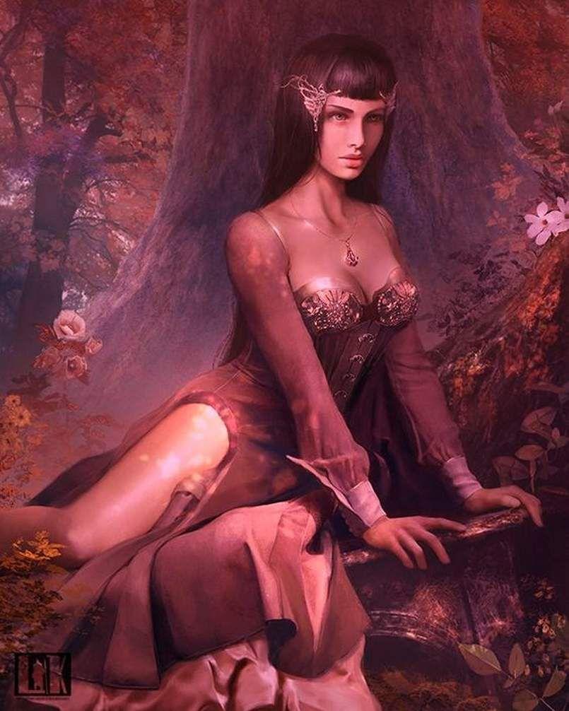 le sujet c'est des reines mytholiques ! c'est fini bonne soirée meme si il y pas vitises ! :(