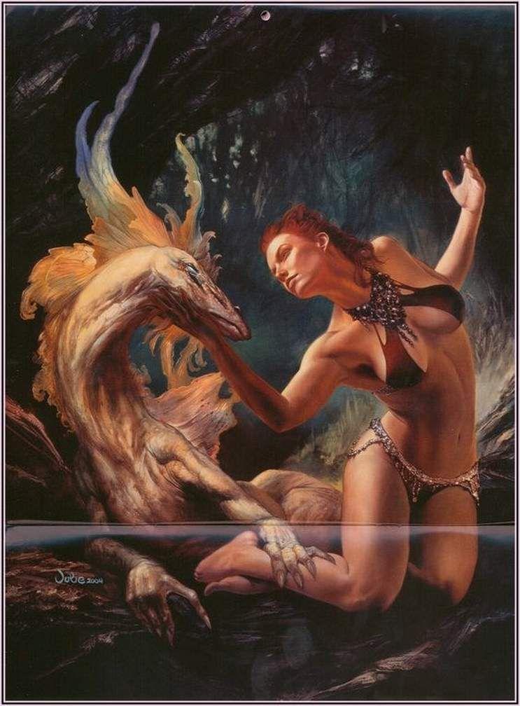 c'est fini ! c'est un monde à envers ! bonne visite ! le theme c'est les femmes et dragons !