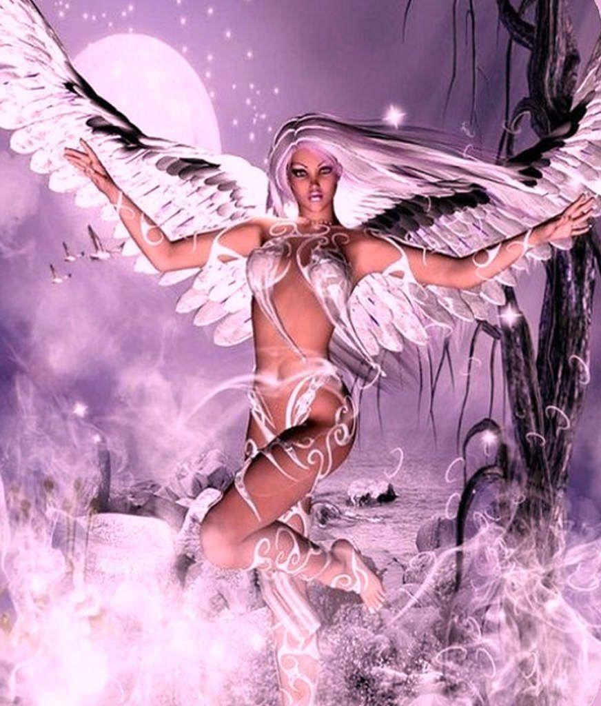 c'est fini ! j'aime des anges qui évoluent dans l'espace, moi qui dans l'univers de ma chambre bye