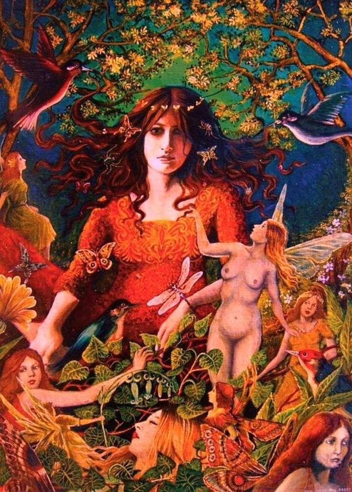 c'est fini ! le thème c'est les déesses ! bonne soirée et bonne visite !&#x3B;)