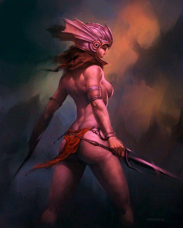 un aperçu des art fantasy et guerrières comme des j'ai vu ! bonne journée !