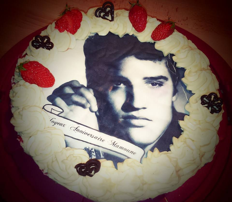 Fraisier Elvis Presley