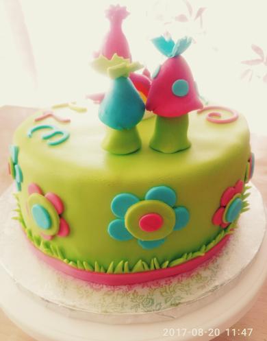 Poppy's Cake pour les 5 ans de Cyrielle