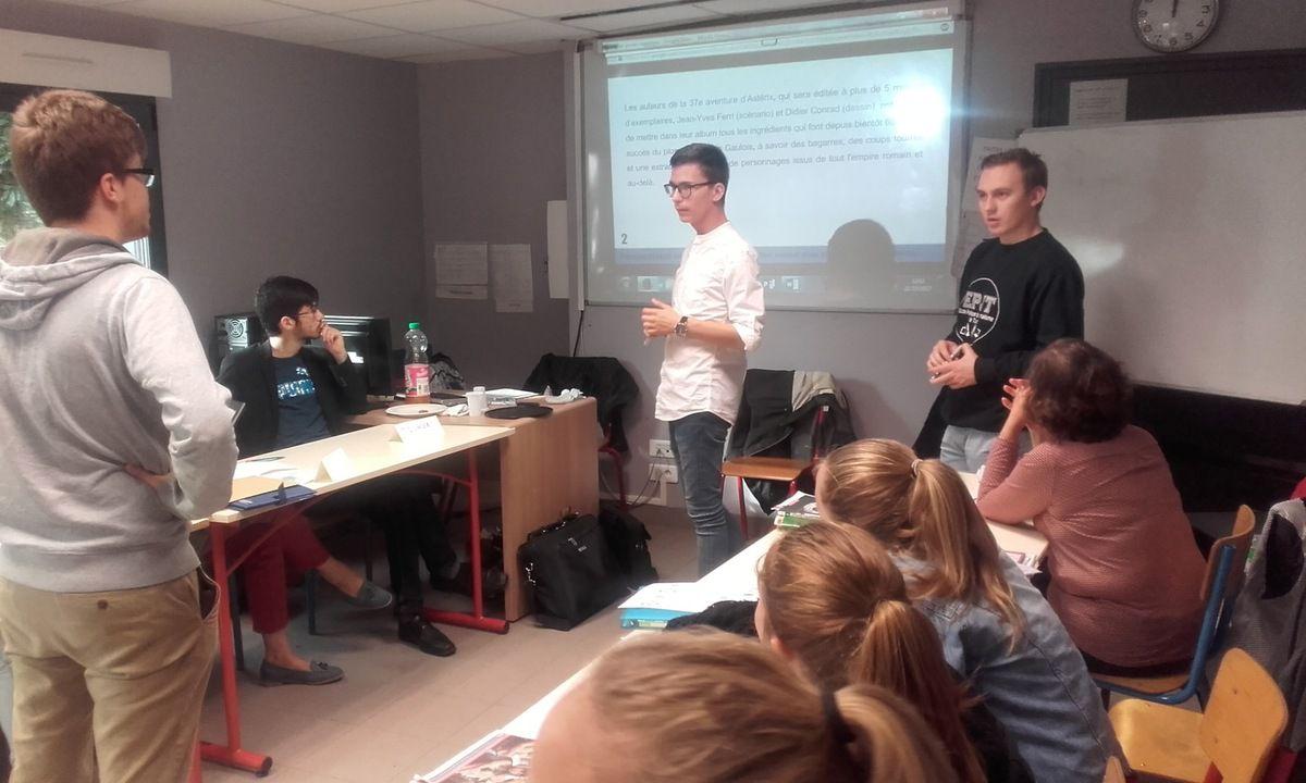 Formation reporters par les étudiants EPJT