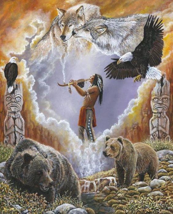 ==&gt&#x3B; Paroles Amérindiennes