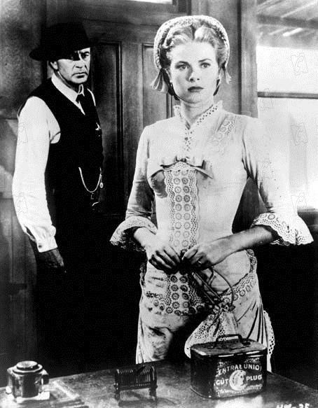 Le train sifflera trois fois : Grace Kelly et Gary Cooper