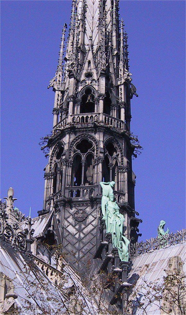 Flêche Notre-Dame de Paris