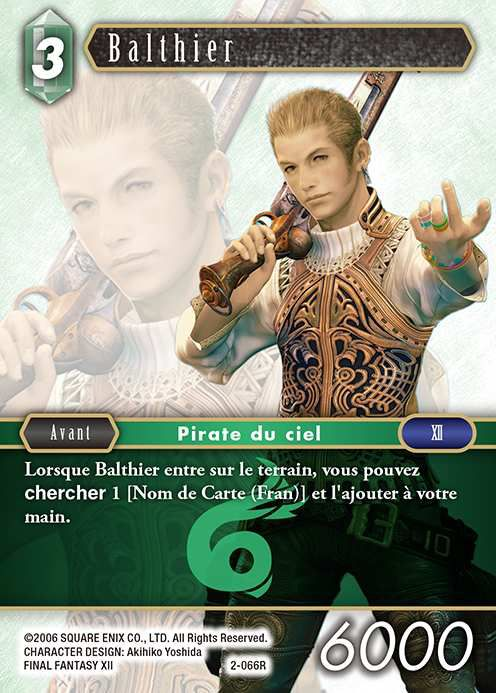 Carte : Balthier (2-066R)