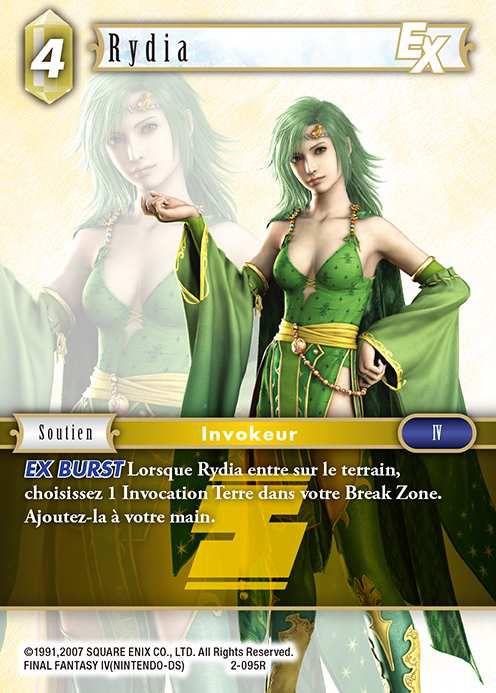 Carte : Rydia (2-095R)