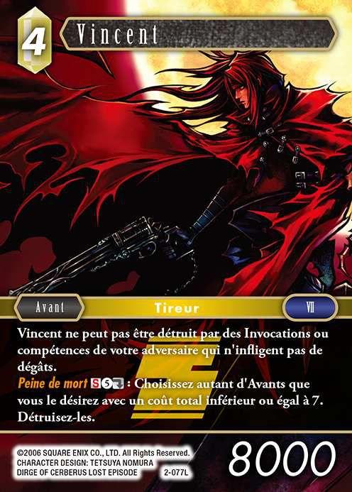 Carte : Vincent (2-077L)