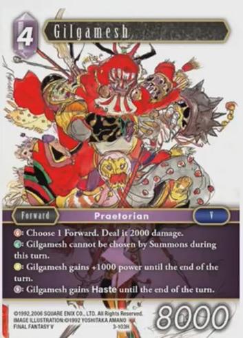 Carte : Gilgamesh (3-103H)