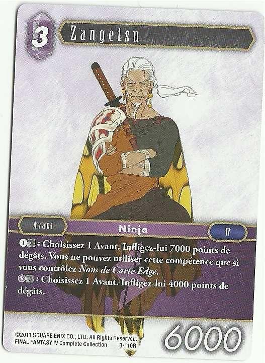 Carte : Zangetsu (3-110R)