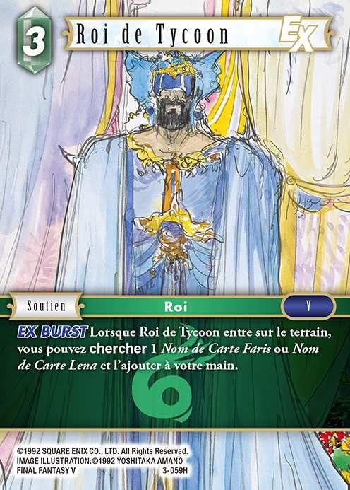 Carte : Roi de Tycoon (3-059H)