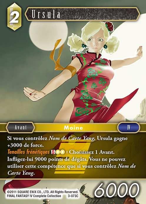 Carte : Ursula (3-073C)