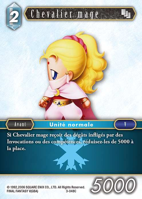Carte : Chevalier Mage (3-048C)