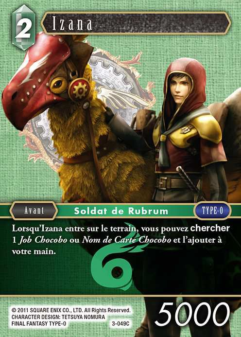 Carte : Izana (3-049C)