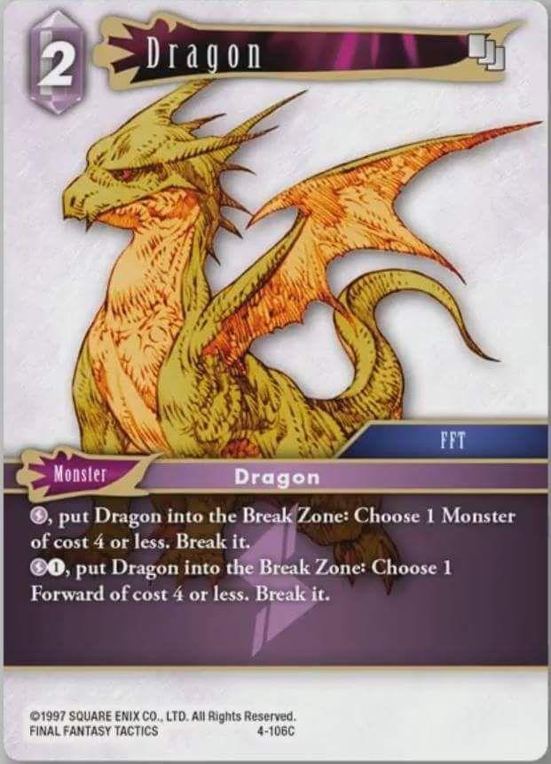 Carte : Dragon (4-106C)