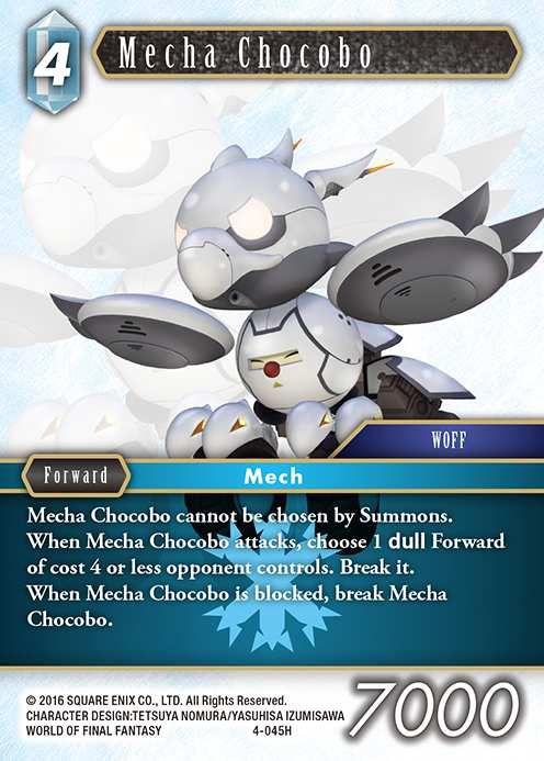 Carte : Mecha Chocobo (4-045H)