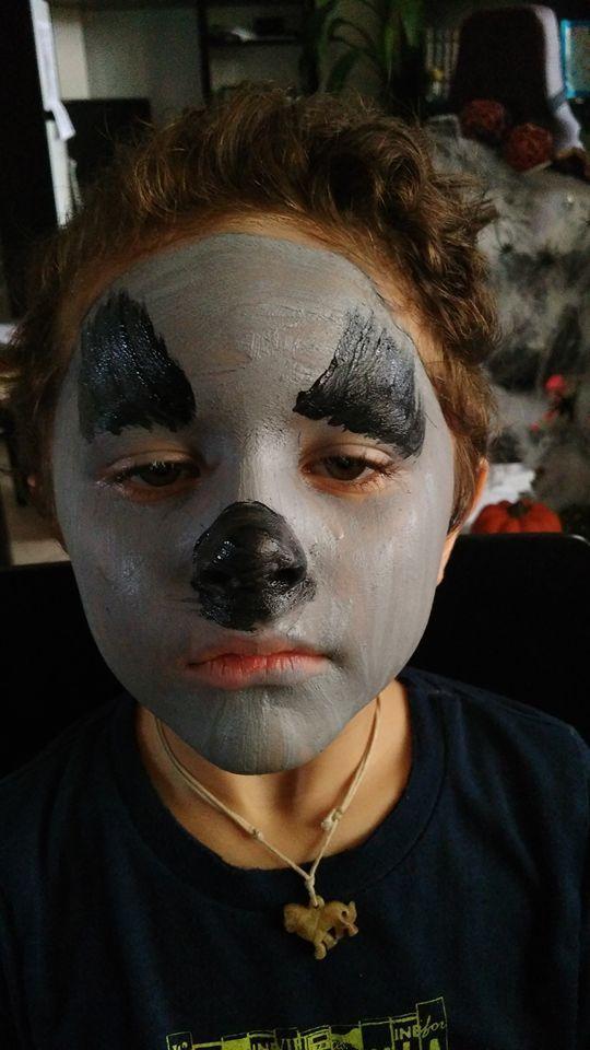 Maquillage Enfant Halloween Le Loup Garou