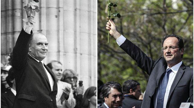 De Mitterrand à Hollande : d'un pari à l'autre