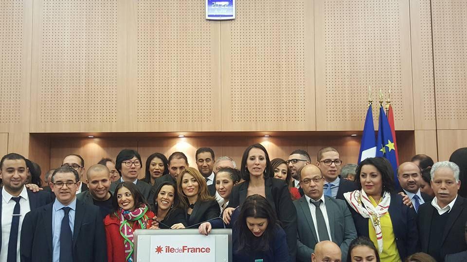 Voeux du Cercle Eugène Delacroix / Conseil Régional d'Ile-de-France / Lundi 16 janvier 2017