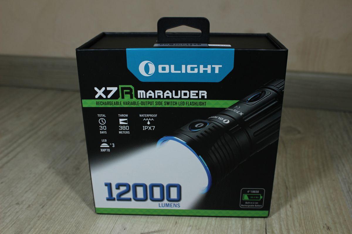 MarauderUn Test La Torche Monstre De Olight X7r Lampe rtdsxQBhC