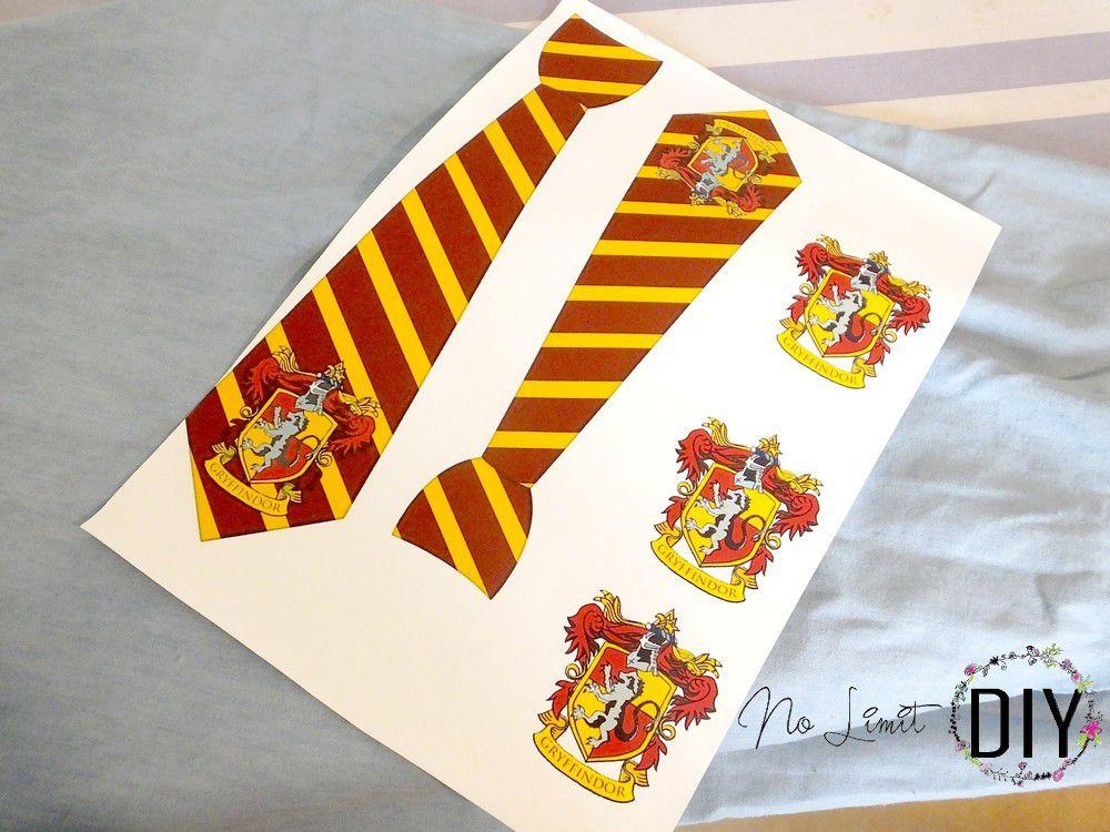 dernière sélection nouveau style de vie grand choix de 2019 Cravate Harry Potter Gryffondor - No Limit DIY