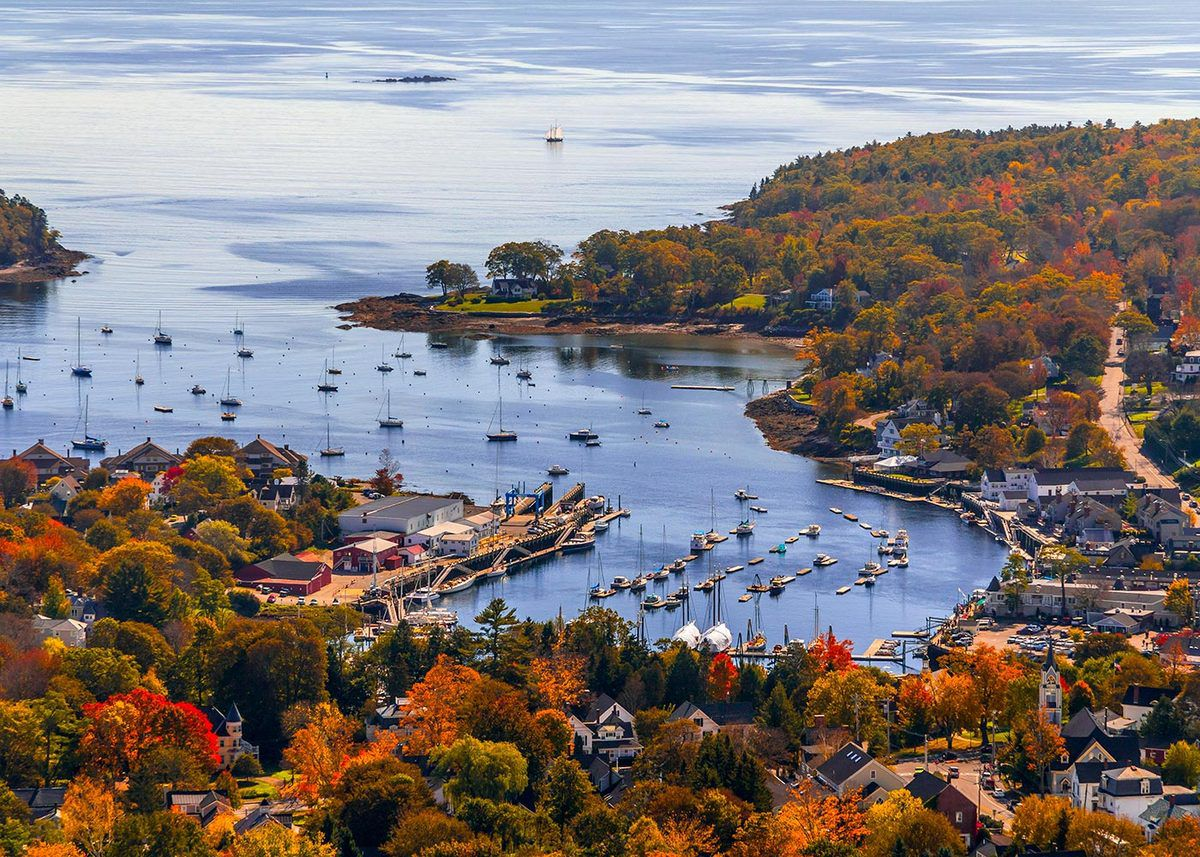 (Camden, Maine, photo de Christopher Ramirez, www.flickr.com)