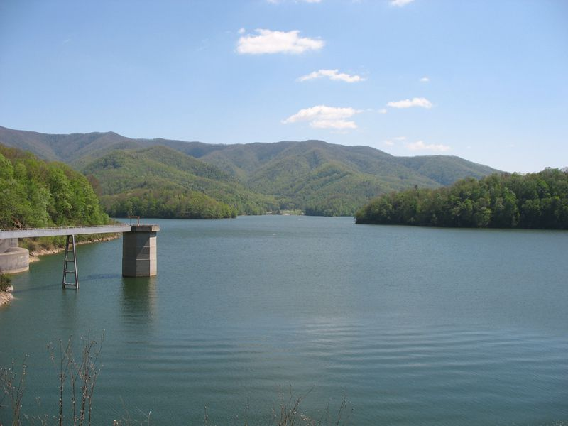 (Cherokee National Forest & Watauga Lake, Tennessee, photo de Ryan Rice, 06/05/2007, wikipédia)